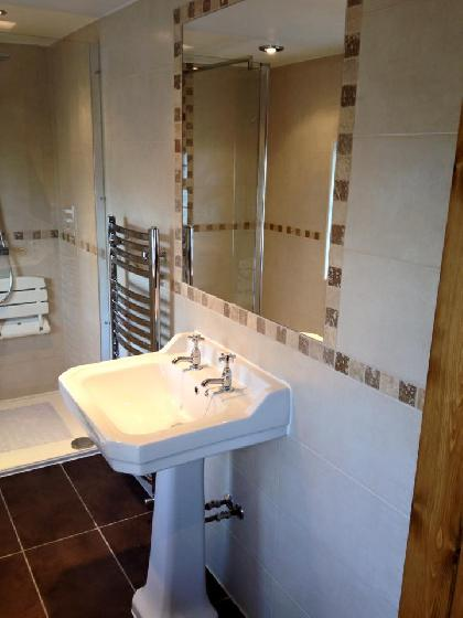 Bathroom renovation in Accrington