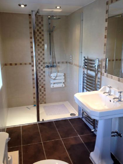 Bathroom refurbishment in Oswaldtwistle